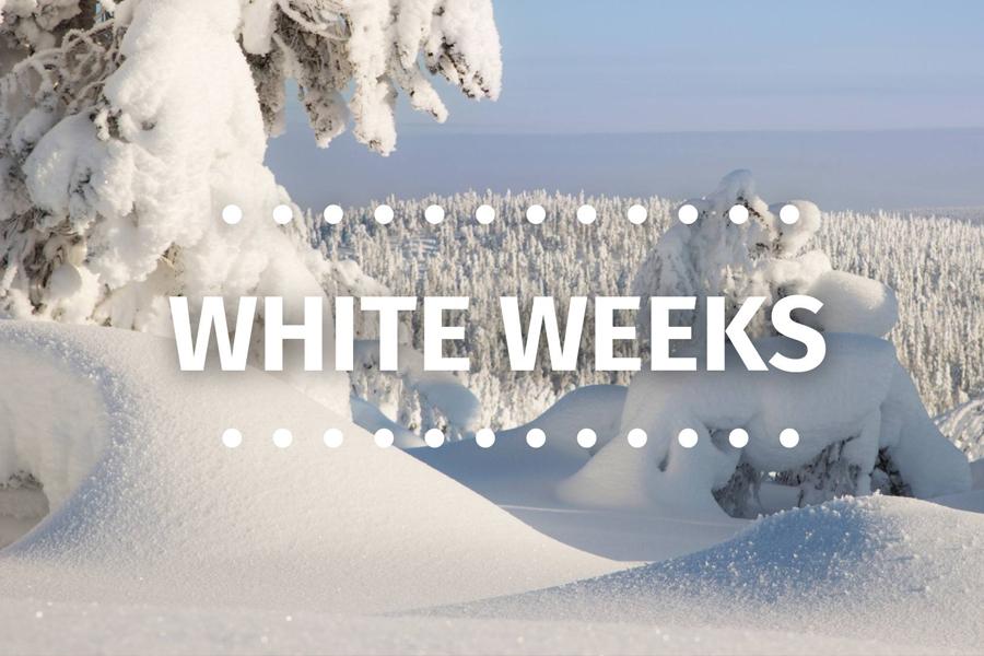 White Weeks -tarjous: -20% päivän hinnoista