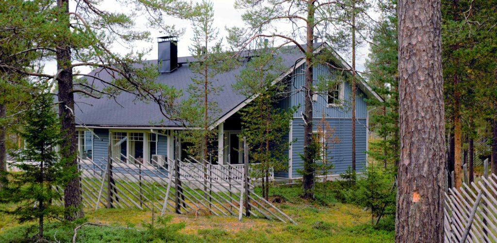 K5 Levi -huvilamökki Levin tunturikylässä.